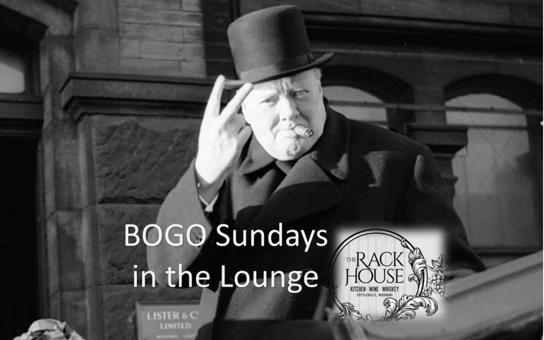 BOGO Sundays in the Cigar Lounge