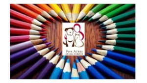 Coloring for a Cause: Five Acres Animal Shelter