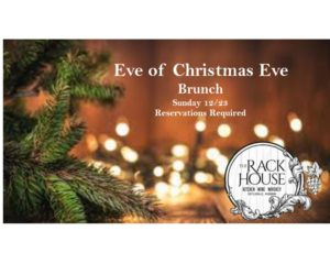 Eve of Christmas Eve Brunch Buffet