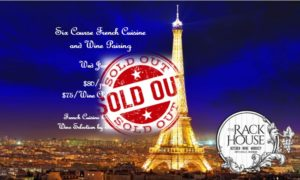 Six Course French Cuisine and Wine Dinner-SOLD OUT