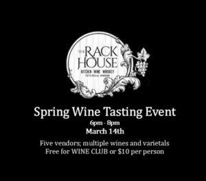 Spring Wine Tasting