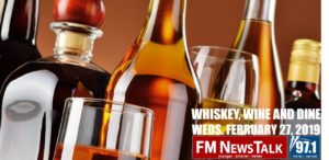 Whiskey, Wine & Dine with Marc Cox & Dave Glover