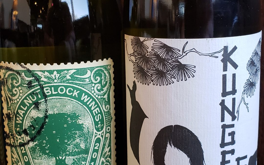 All White Selection: Walnut Block 'Collectables' Sauvignon Blanc 2019, 2017 Kung Fu Girl Riesling