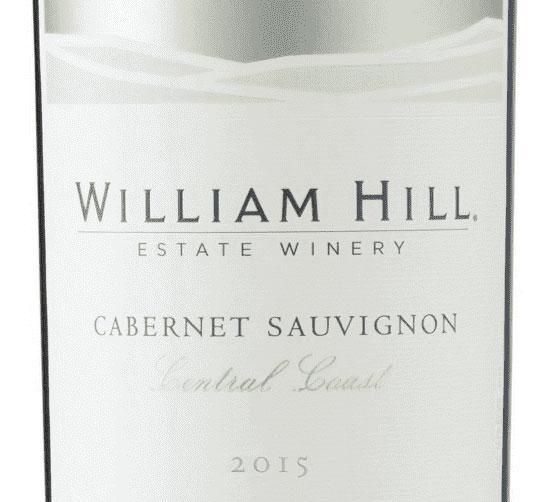 William Hill Estate Central Coast Cabernet Sauvignon – Red Selection