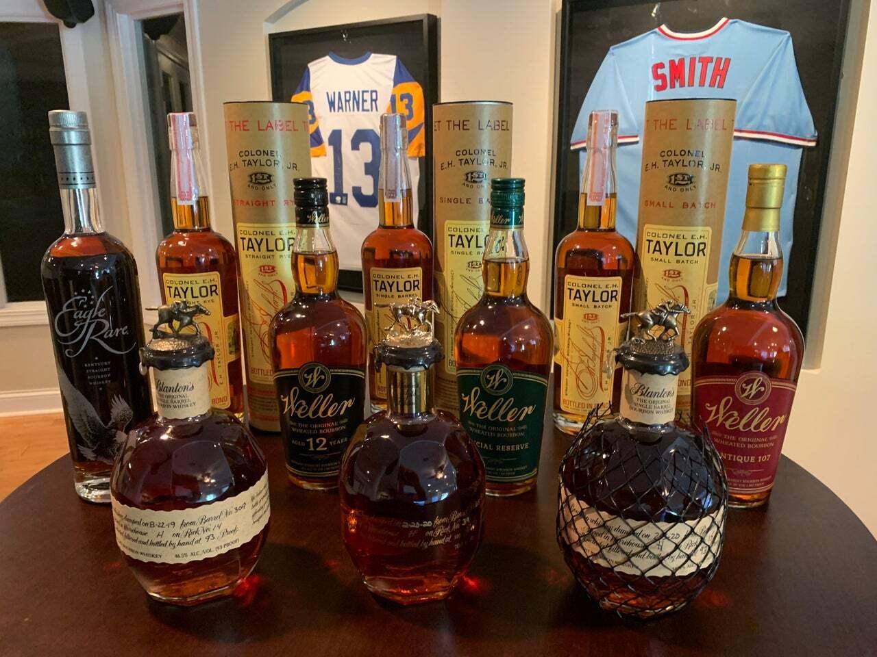 Buffalo Trace Whiskey Raffle to Benefit The Alzheimer's Association