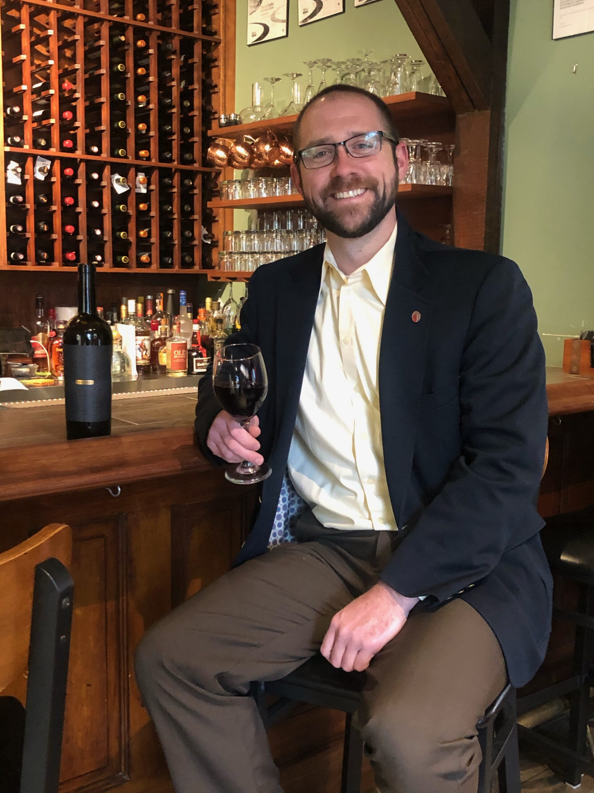 Sommelier Josh French